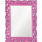 Howard Elliott 2113HP Chateau Mirror, Hot Pink