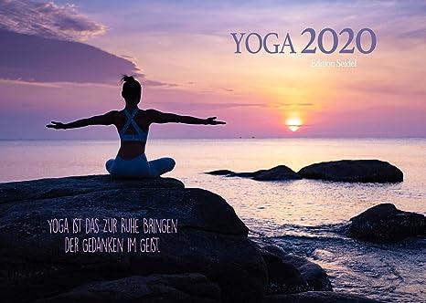 Edition Seidel Yoga Premium Kalender 2020 Din A3