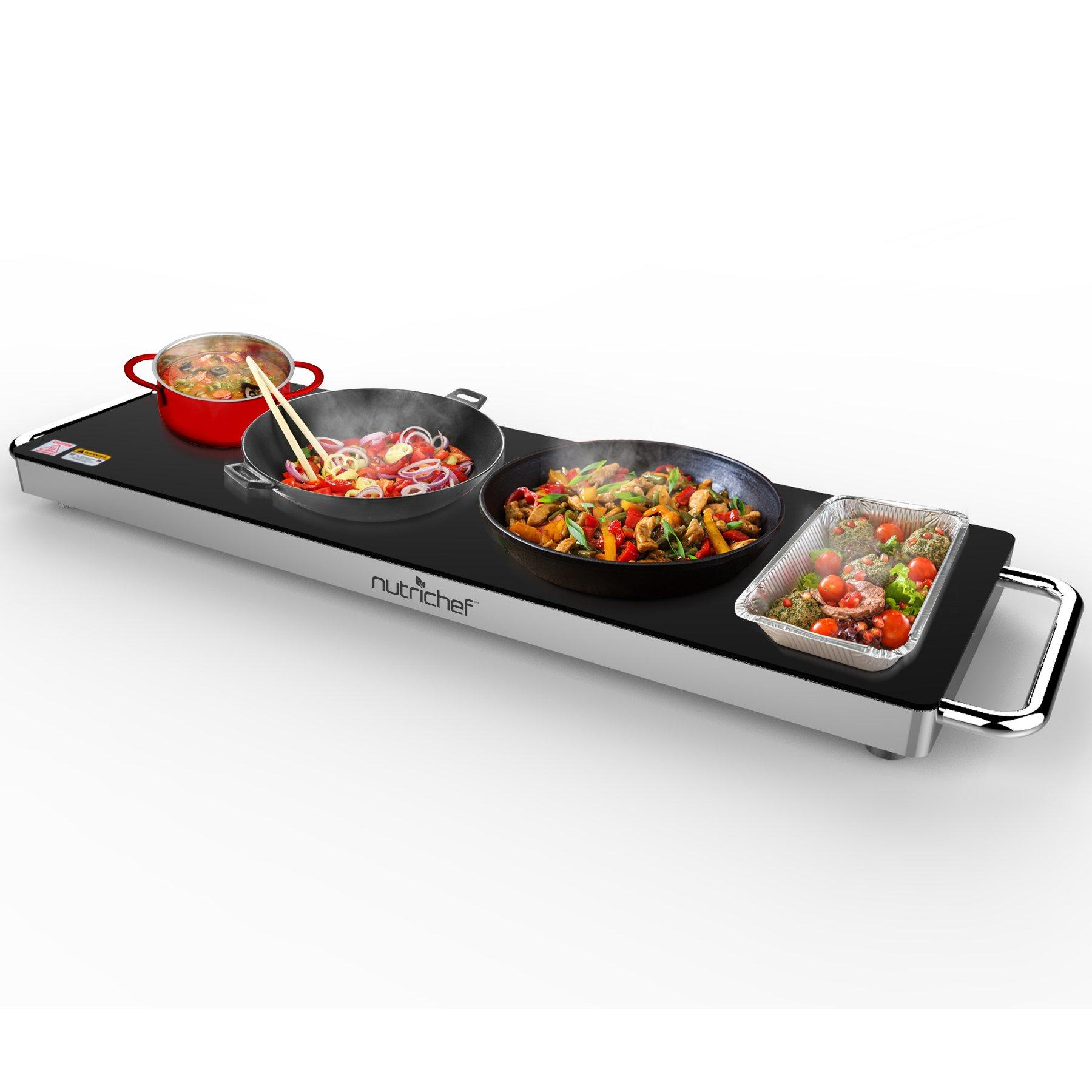 Nutrichef Electronic Warming Tray (PKWTR40)