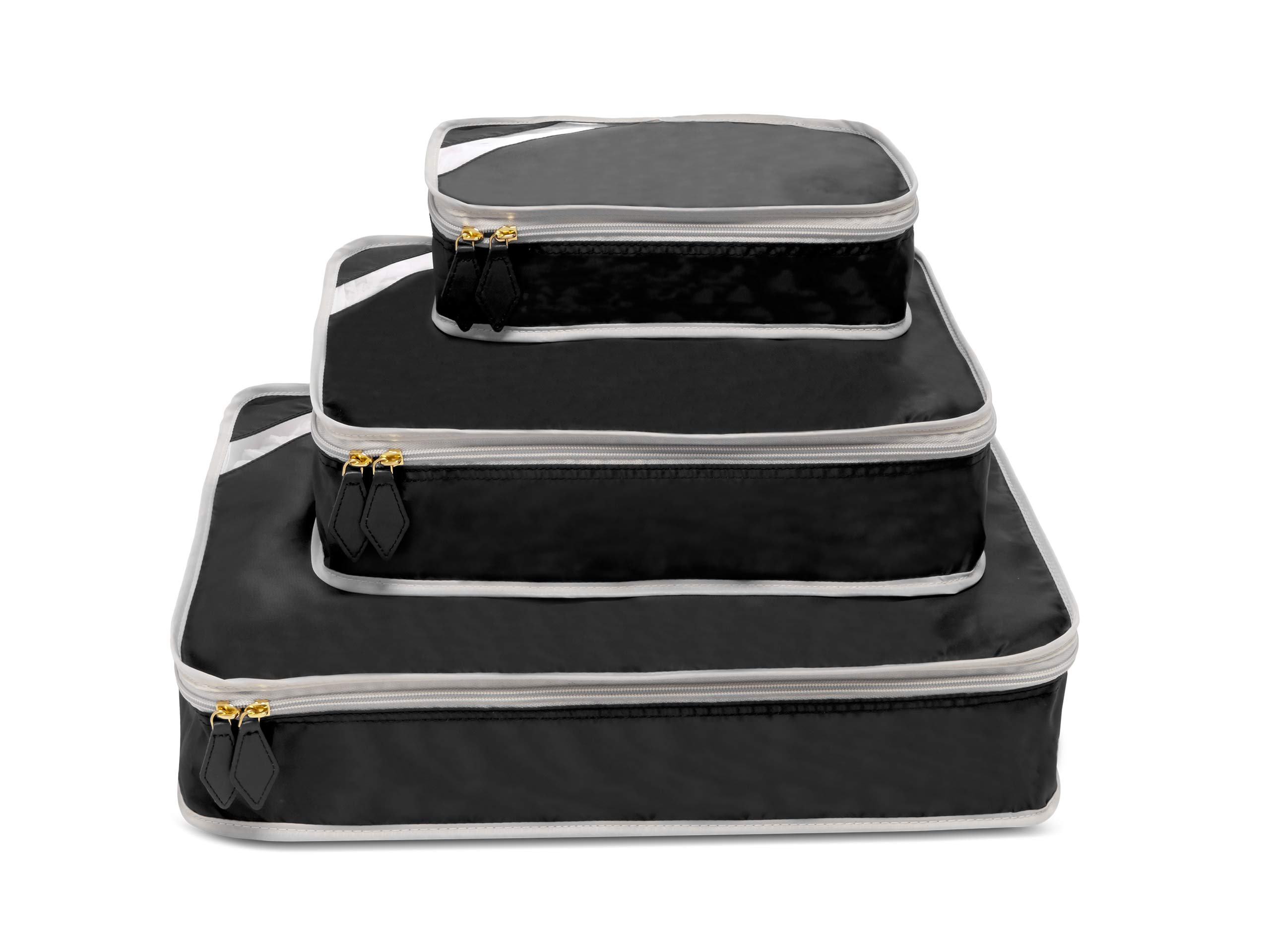 Paravel Packing Cube Trio (Derby Black) by Paravel