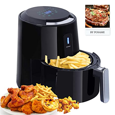 Amazon.com: Air Fryer XL, freidora de aire eléctrica para ...