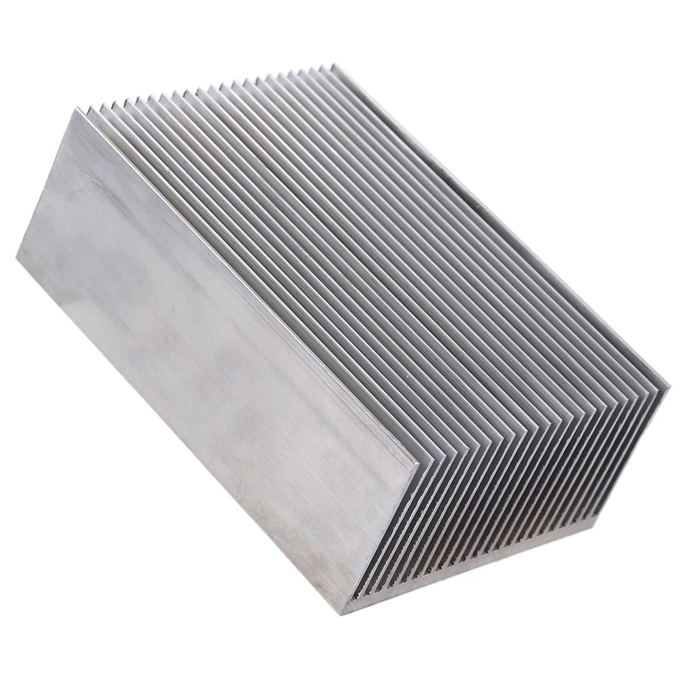 1 Set Aluminum Heat Sink Cooling Fin Cooler For Led Amplifier Transistor IC Module Or Computer,100(L)x 69(W) x 36 mm(H) by Hilitand (Image #7)