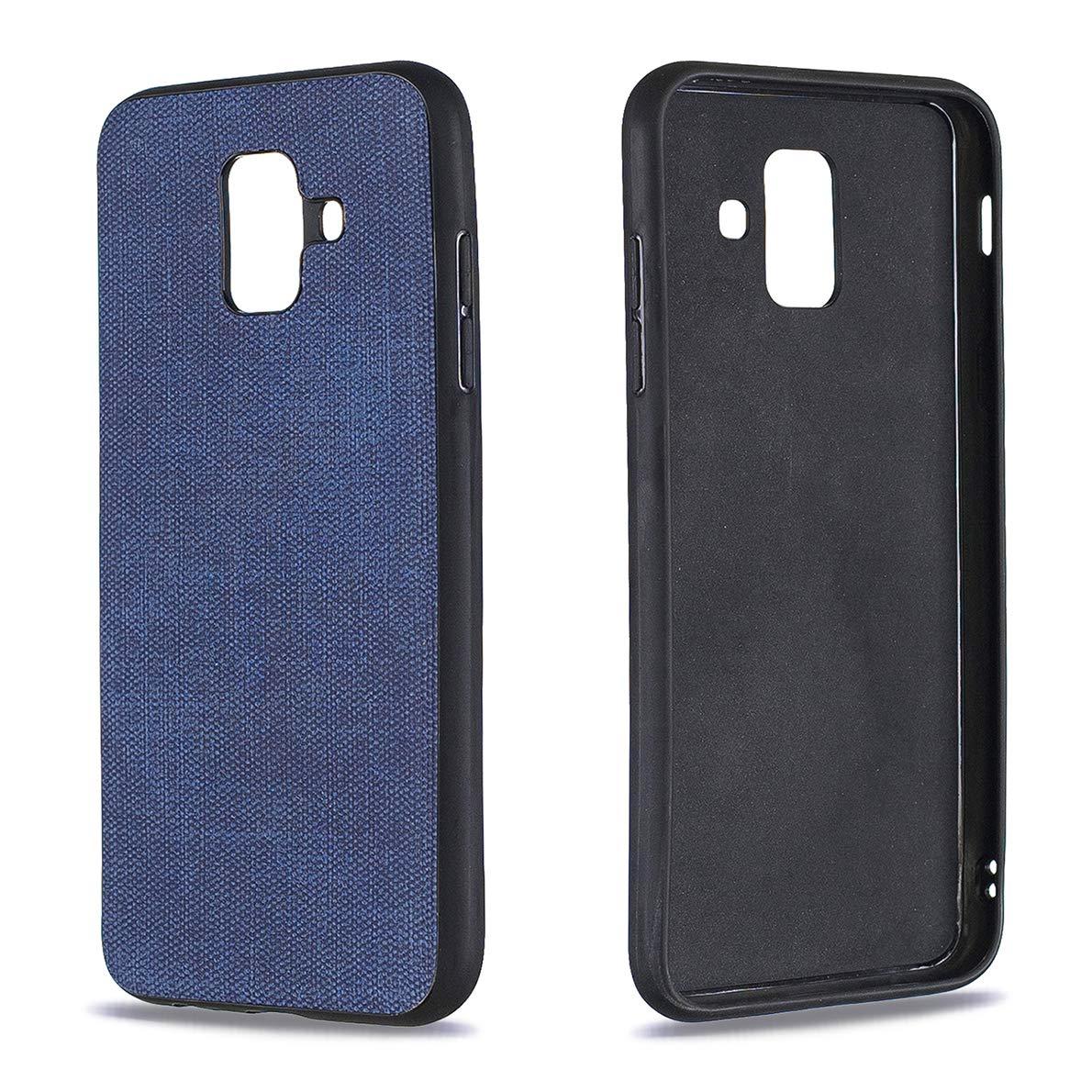 SHUYIT Funda Samsung Galaxy A6 2018 Ultrafina Cover Case con Textura de Tela Suave TPU Silicona Caso Estuche Soft Silicona Protectora Carcasa para Samsung Galaxy A6 2018