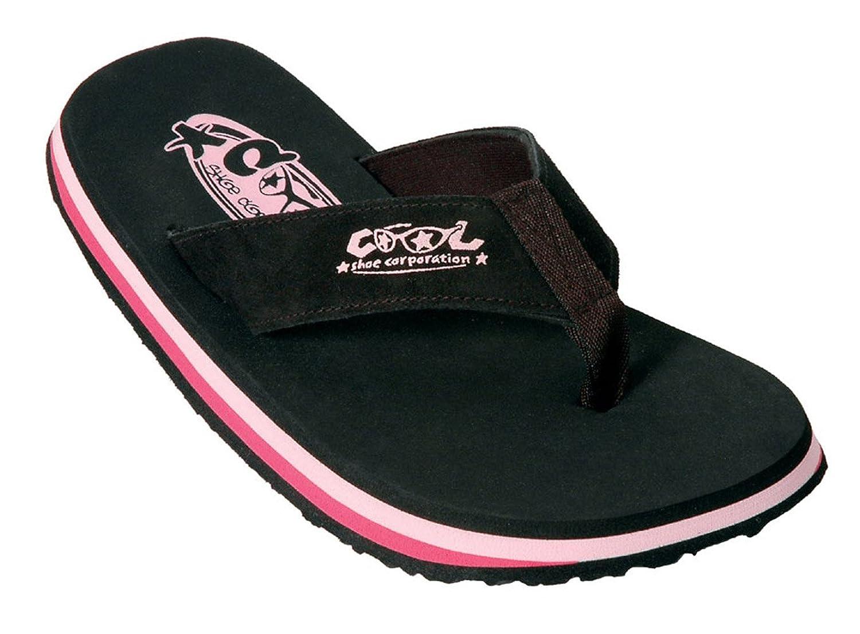 Cool Shoe - Flip Flop Zehentrenner Woman Original - Eve Gr. 34/35 schwarz-pink