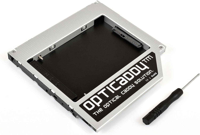 Opticaddy© SATA-3 HDD/SSD Caddy Universal 9.5mm SATA a SATA ...