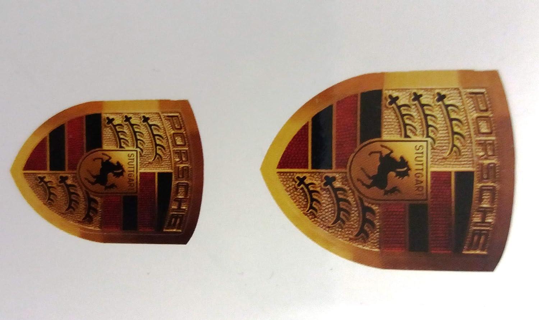 Big Original Porsche Sticker Logo Klein Und Groß Für Lenkrad Oder Bobby Car Etc Spielzeug