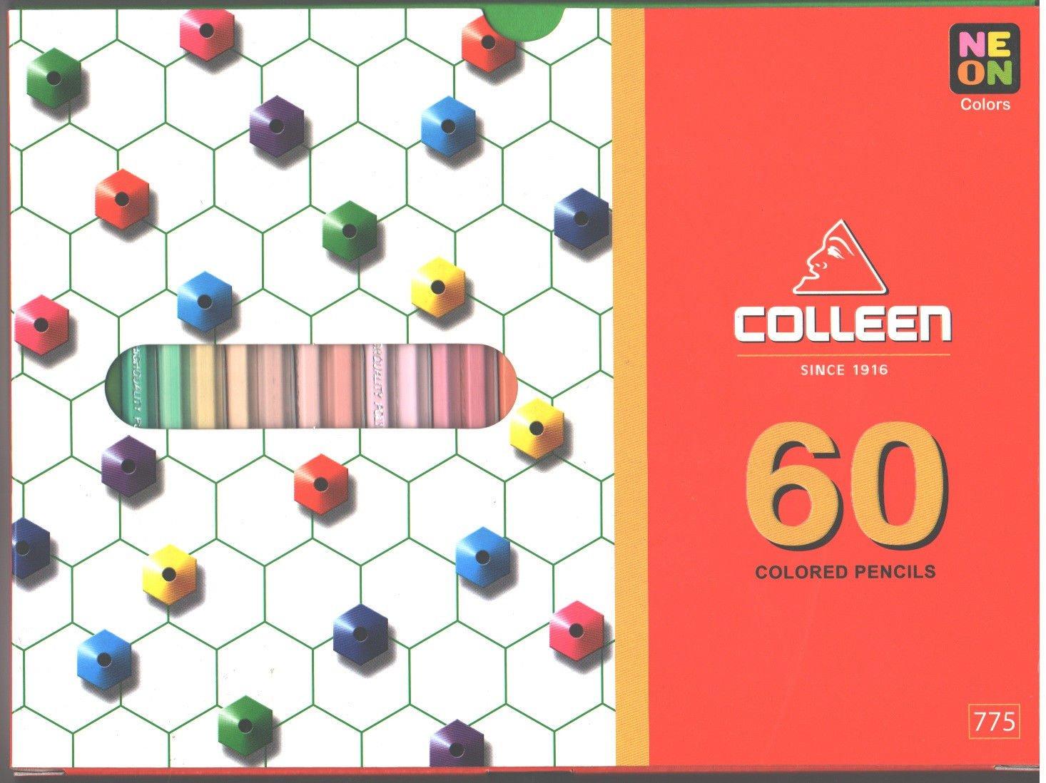 Set de 60 lapices de colores, Collen (xmp)