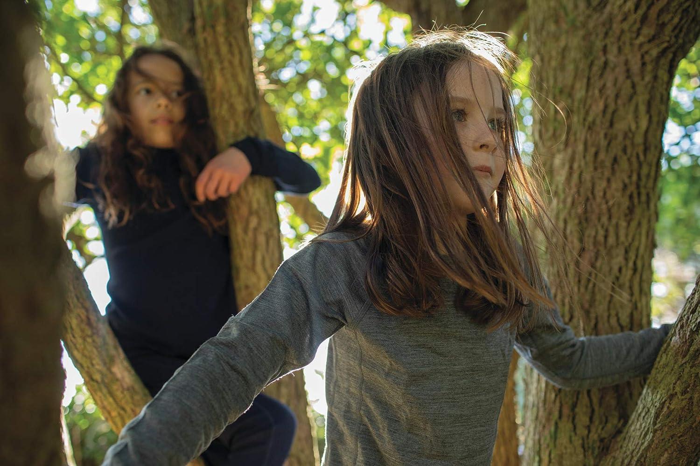 Icebreaker Oasis Ls Crewe Haut pour Couche inf/érieure Enfant