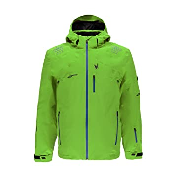 Spyder Monterosa - Chaqueta de esquí para hombre, invierno, hombre, color verde lima, tamaño S (48): Amazon.es: Deportes y aire libre