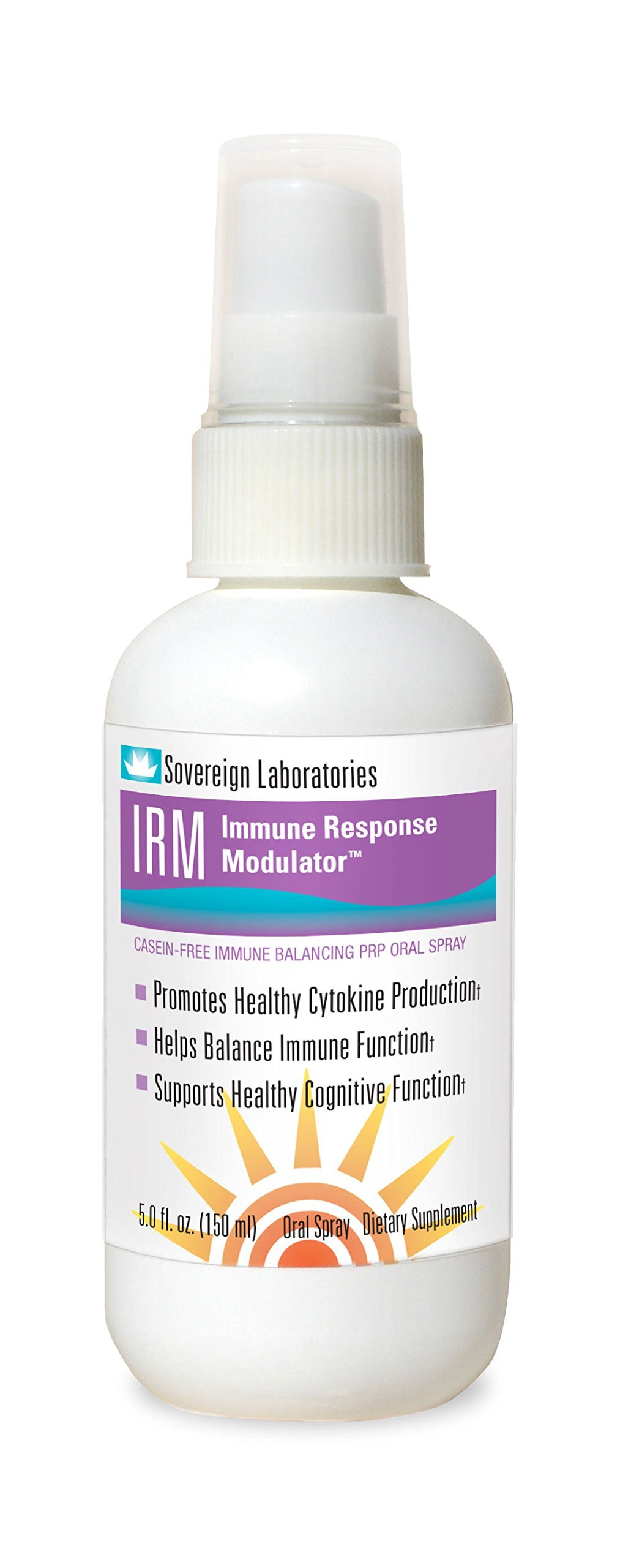 IRM (Immune Response Modulator) Oral Spray for Allergy and Inflammation Relief Formulated from Grass Fed Bovine Colostrum