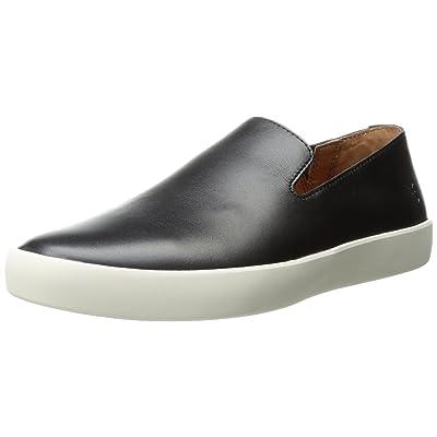 Frye Men's Tanner Slip On Fashion Sneaker, Black, 7 D US: Shoes