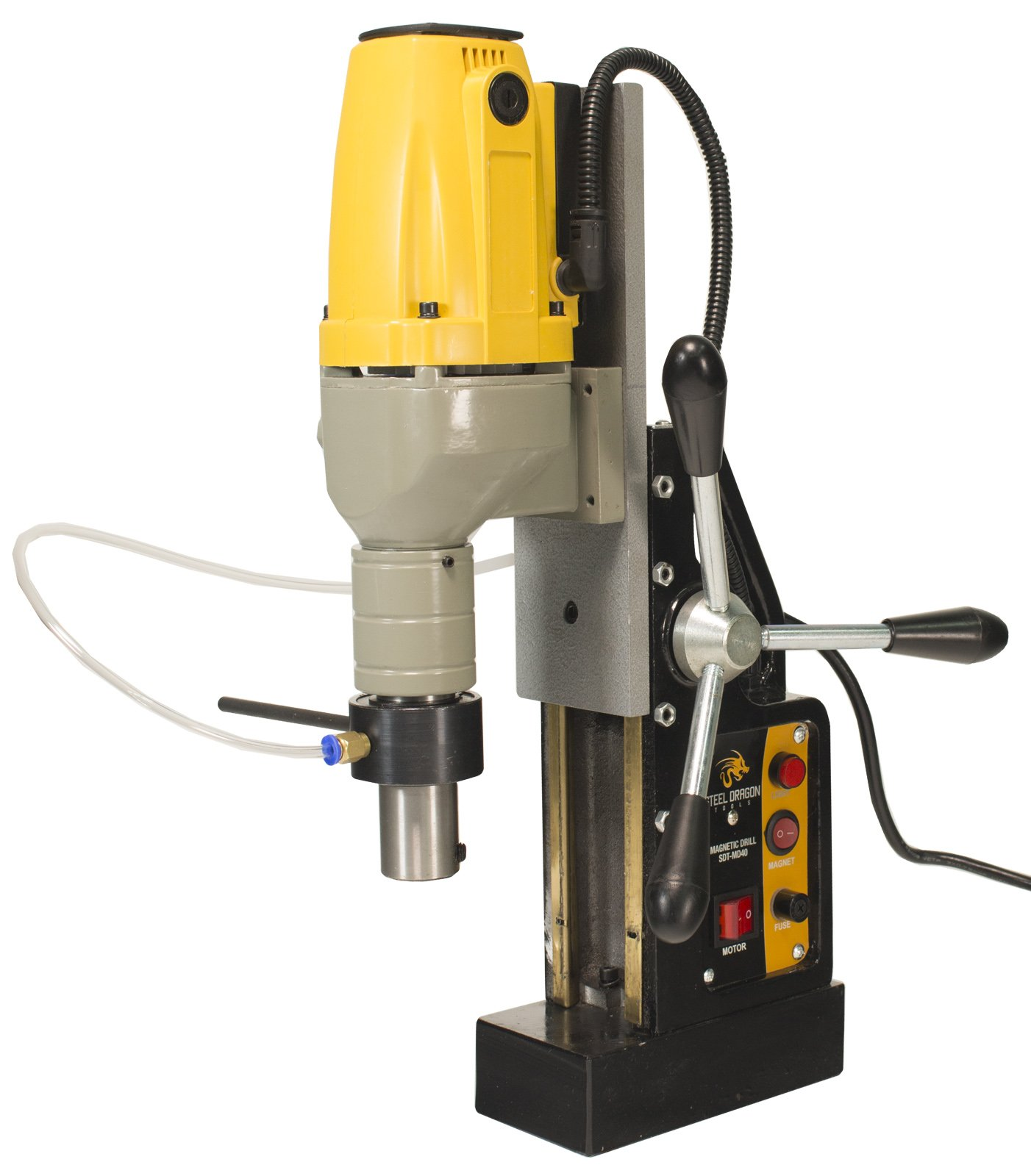 Steel Dragon Tools MD40 Magnetic Drill Press with 1-1/2'' Boring Diameter & 2700lb Magnetic Force by Steel Dragon Tools (Image #8)