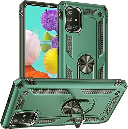Pegoo Für Galaxy A51 Hülle Handyhülle Hybrid Harte Elektronik