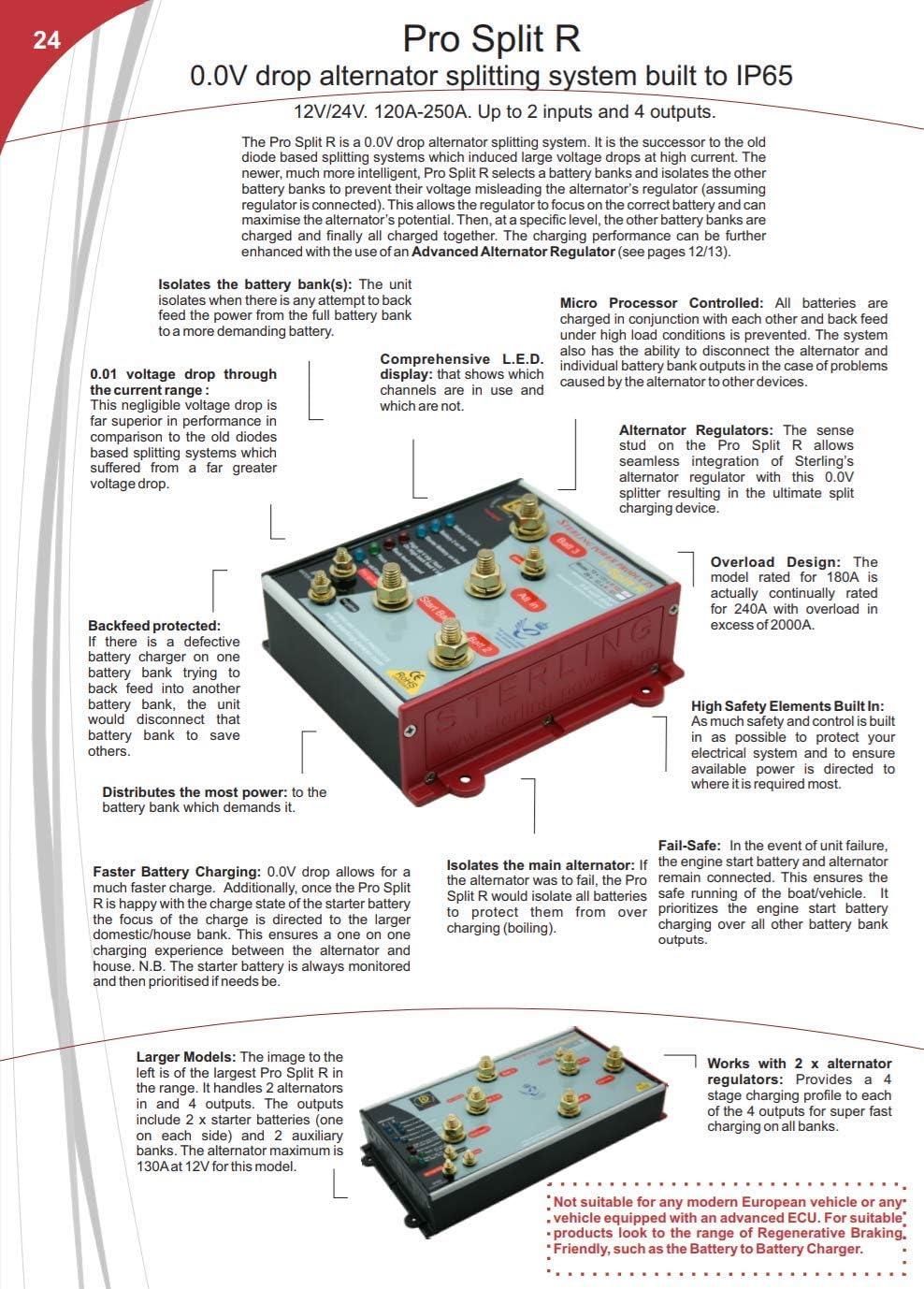 Sterling Pro Split R - Alternator 0.0V Drop Splitting System on rectifier wiring diagram, generator stator wiring diagram, alternator battery charging circuit, automatic choke wiring diagram, motorcraft alternators diagram, alternator conversion wiring harness, sensor wiring diagram, alternator regulator problems, alternator troubleshooting, windshield wiper switch wiring diagram, alternator voltage regulator schematic, alternator with external voltage regulator, distributor wiring diagram, alternator diode wiring, alternator wiring schematic, battery wiring diagram, gy6 rectifier diagram, alternator and regulator wiring, alternator voltage regulator test, alternator wiring problems,