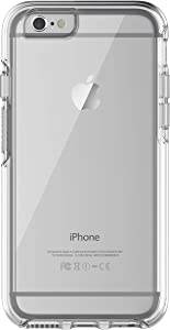 OtterBox Symmetry Series Slim Case for iPhone 6s & iPhone 6 (NOT Plus) - Non-Retail Packaging -Clear Crystal
