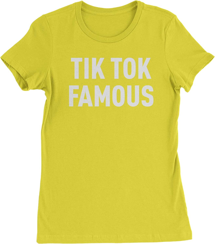 Expression Tees TIK Tok Famous Womens T-Shirt