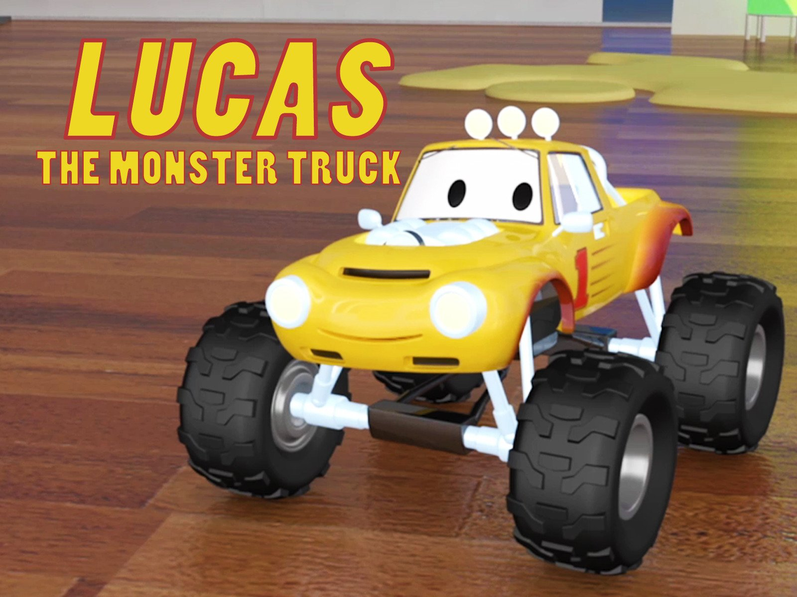 Amazon Com Lucas The Monster Truck Charles Courcier Edouard
