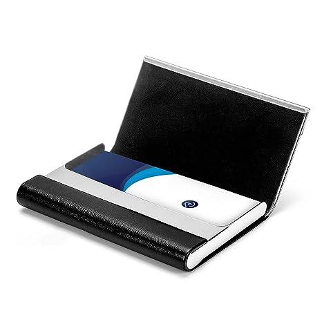 Amazon.com: MaxGear - Funda para tarjetas de visita (piel ...
