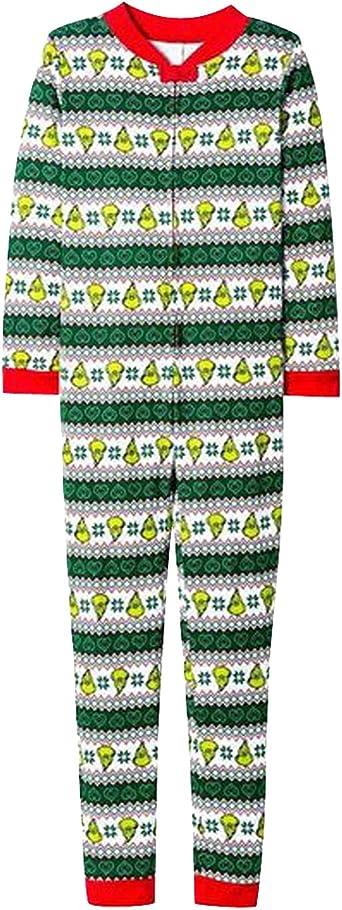 Pijamas Familiares Navideñas Pijama Navidad Familia Mono Navideños Mujer Niños Niña Hombre Pijama Entero Una Pieza Trajes para Navidad Pijamas a Juego ...