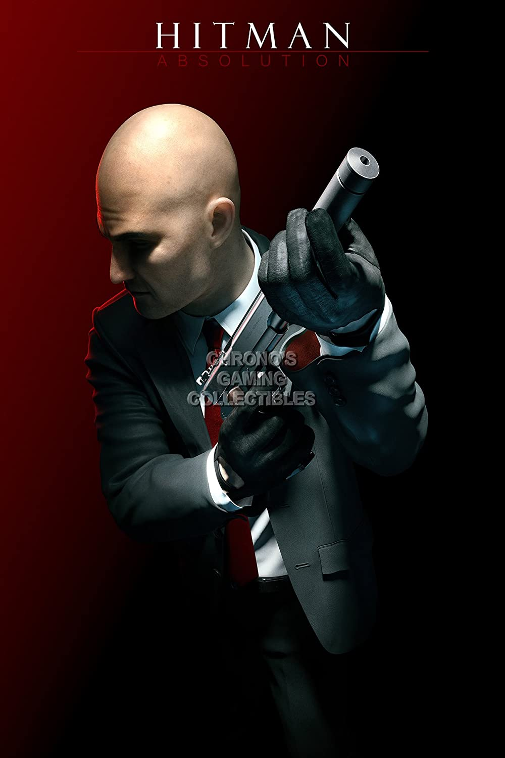 Amazon Com Primeposter Hitman Absolution Agent 47 Poster Glossy