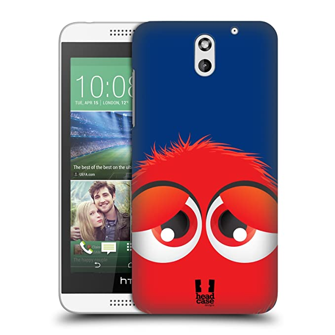 Carcasa rojo Fuzzballs protectora Snap-On carcasa para HTC ...