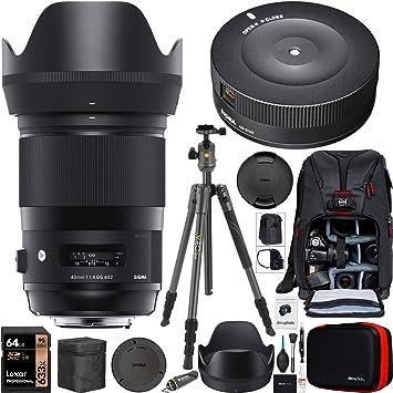 Sigma 332954 - Objetivo para cámaras réflex digitales Canon EF con ...