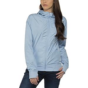 Bench Damen Jacke Kapuzenjacke Retrocag II D grau (Neutral