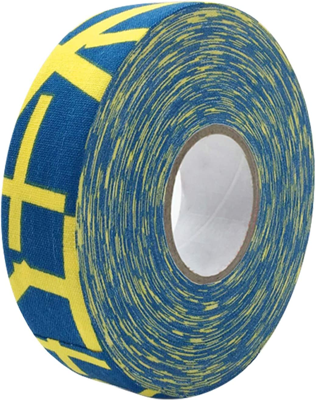 Bande adh/ésive de Sport de Bande de b/âton de Tissu de Hockey Durable Anti-d/érapant pour poign/ées de Tennis de Badminton de Crosse de Hockey Beetest Hockey Tape