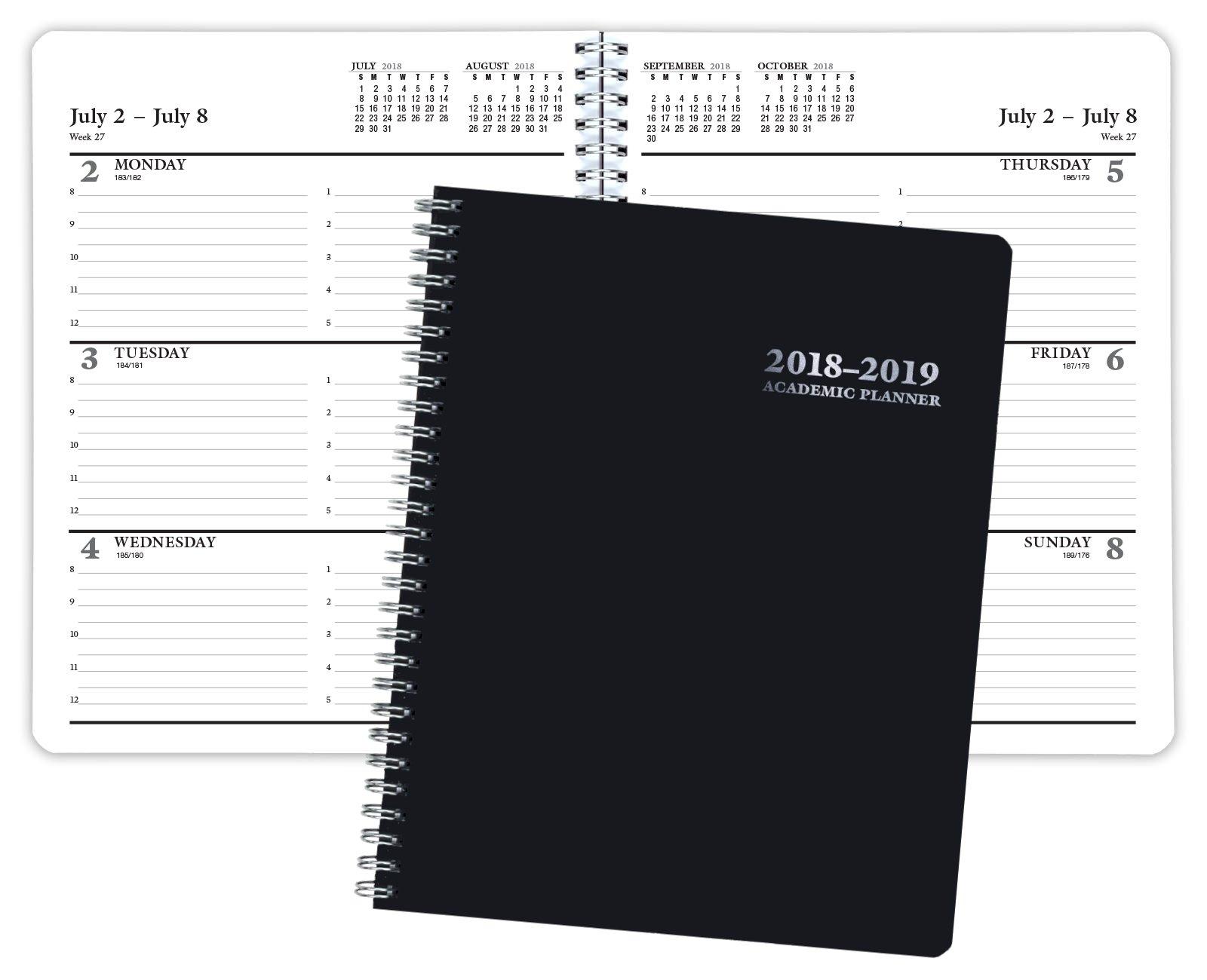Premium Planner 2018-2019 Academic Year Planner - 8x10 - July 2018 through July 2019