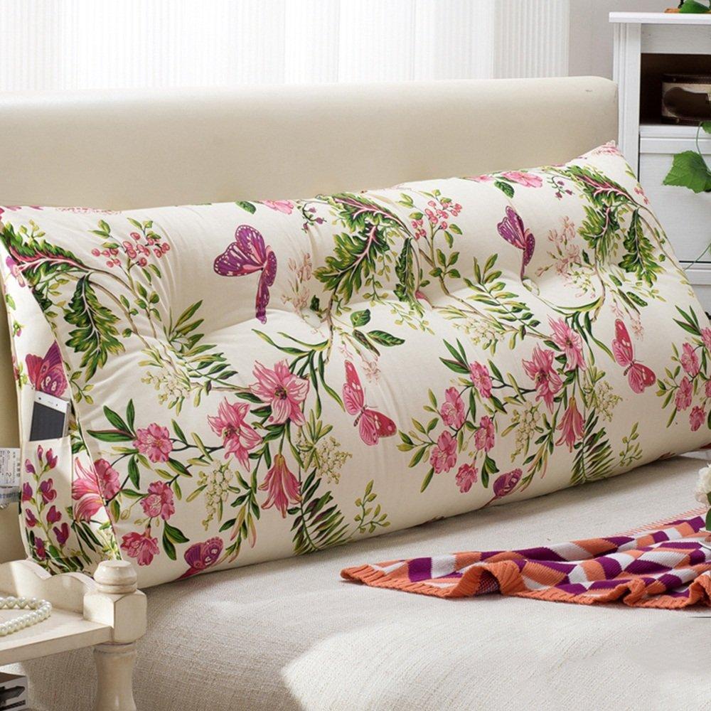 WEBO HOME- Canapé large sac à dos - lit cordon - double coussins de lit - oreiller - oreiller taille oreiller -