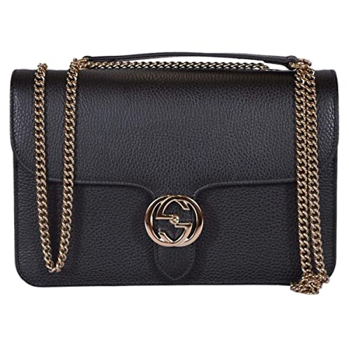 Gucci Bree Guccissima Black Crossbody Leather Bag New  Amazon.ca  Shoes    Handbags 16164e7b0119d