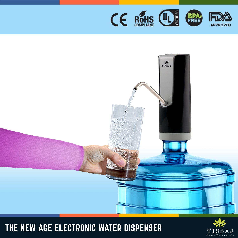 Amazon.com: Dispensador de botellas de agua de 5 galones ...