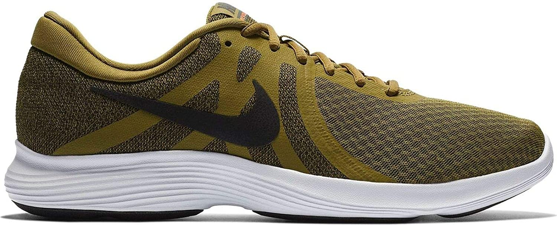 Nike Revolution 4 EU, Chaussures de Running Running de Homme 42.5 EU Multicolore (Olive Flak/Black-hyper Crimson-white 301) 727da4