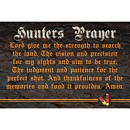 Amazoncom Icandy Combat Hunters Prayer Lord Give Me The Strength