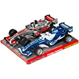 Formula 1 Racing Car 2 Pack with Lights and Sound  colors vary