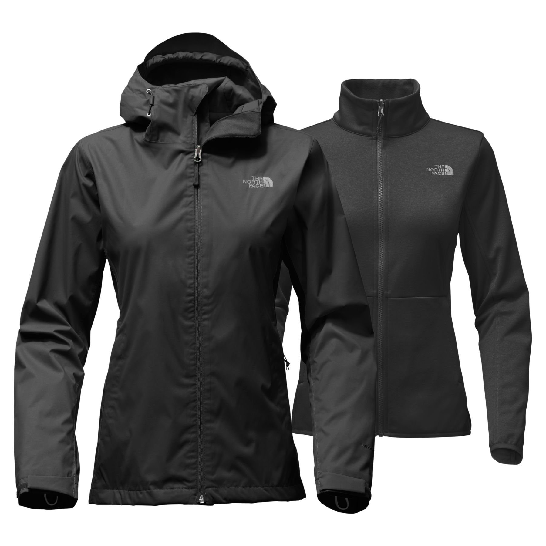 The North Face Women's Arrowood Triclimate Jacket TNF Black - M