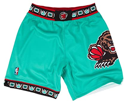 3c6467c0fd5d6 Image Unavailable. Image not available for. Color: Mitchell and Ness 95-96 Vancouver  Grizzlies Mens Shorts ...