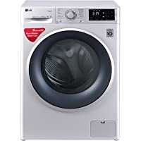 LG 6.5 kg Inverter Fully-Automatic Front Loading Washing Machine (FHT1065SNL.ALSPEIL, Luxury Silver)