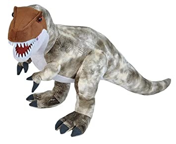 Amazon Com Wild Republic Dinosaurs T Rex Plush Dinosaur Stuffed