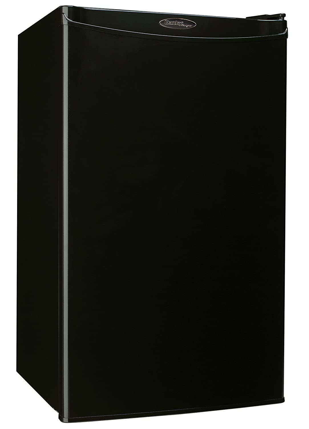 Danby Compact Mini Bar Dorm Home Beverage Cooler Fridge Refrigerator, Black