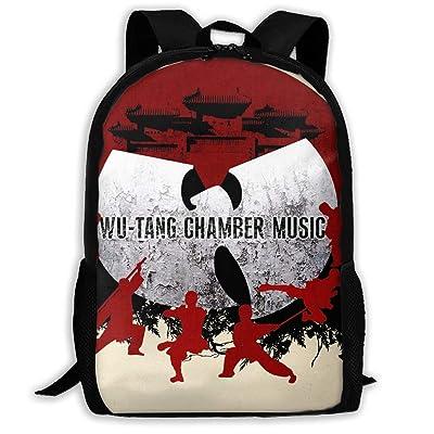 Wu-Tang CHAMBER MUSIC Boys Girls School Bag Backpack Bookbag College Shoulder Bag For Travel: Clothing