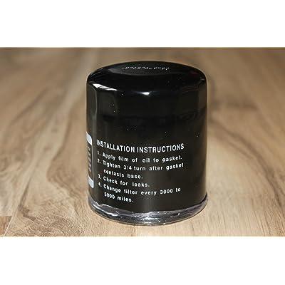 Nessagro Oil Filter for John Deere AM101207, HE 122-033P, and TCA10018 .#GH45843 3468-T34562FD474854 : Garden & Outdoor