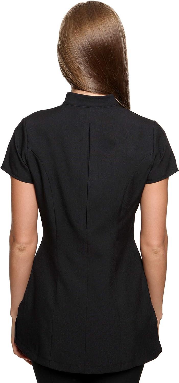 Abbigliamento Estetista Casacca Donna Freya Nero 48 IT 16 UK