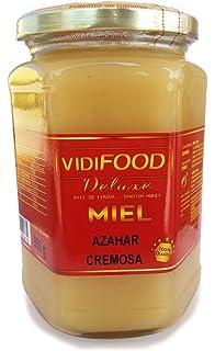 Miel de Azahar Crema - 950g - Producida en España - Alta Calidad, tradicional &