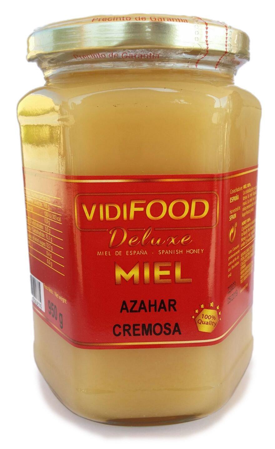 Miel de Romero Crema - 950g - Producida en España - Alta Calidad, tradicional & 100% pura - Aroma Floral y Sabor Rico y Dulce - Amplia variedad de ...