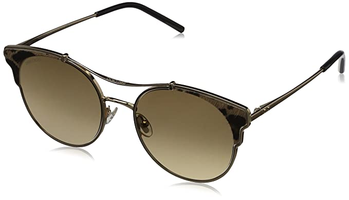 Jimmy Choo Mujer LUE/S 86 XMG 59 Gafas de sol, Dorado ...