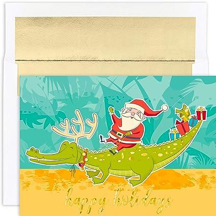 Masterpiece Studios Santa U0026 Gator Card Stock (919300)