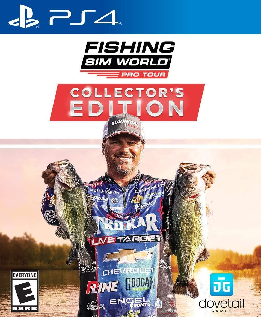 Amazon Com Fishing Sim World Pro Tour Collector S Edition Ps4 Playstation 4 Maximum Games Llc Video Games