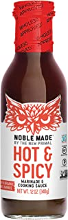product image for Noble Made by The New Primal, Marinade And Cooking Sauce Spicy, 12 Fl Oz
