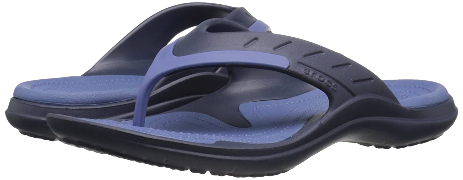 7562cea4f crocs MODI Sport Flip Unisex Slipper  Shoes  202636-42T-M10W12 Navy Bijou  Blue  Buy Online at Low Prices in India - Amazon.in